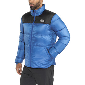 The North Face M's Nuptse III Jacket Turkish Sea/TNF Black